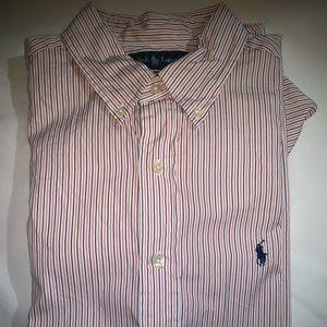 Ralph Lauren Button Down Shirt Size 16 34/35